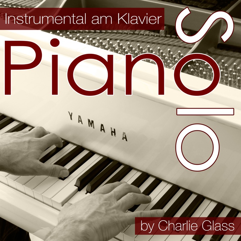 CD Cover - Charlie Glass - Piano Solo